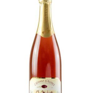 """Crémant d'Alsace rosé """"Fantaisie en rose"""""""